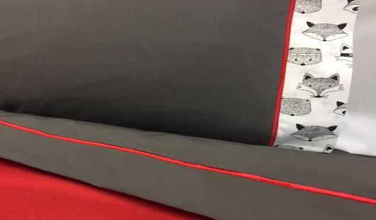 Fox cot sheet set