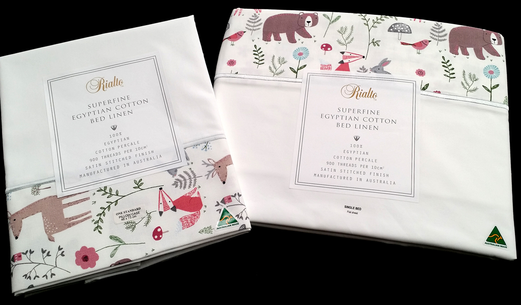 Animals S/bed sheets