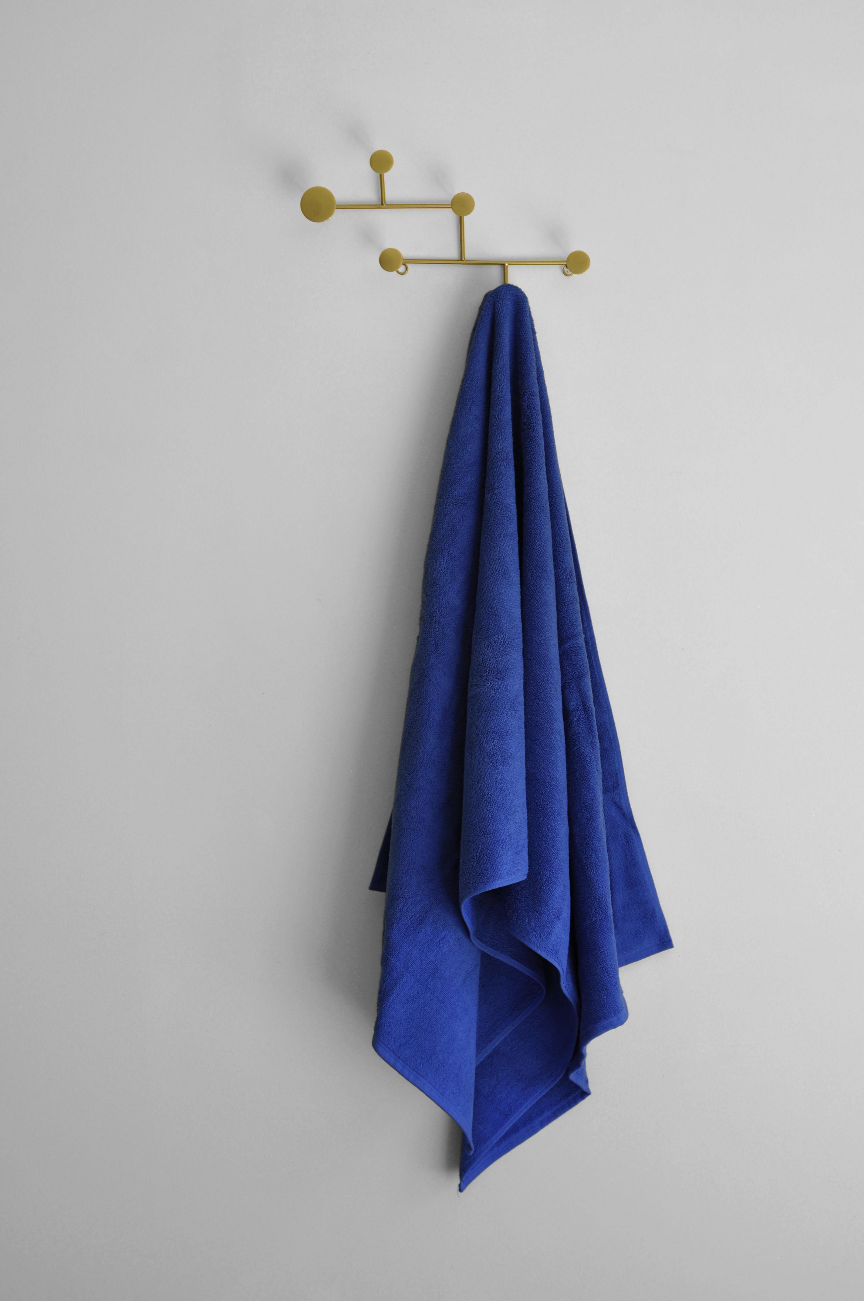 Blue Plain Towel